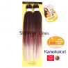 2X Black Angel плитка коса kанекалон (цвят T1B/BUR/SILVER)
