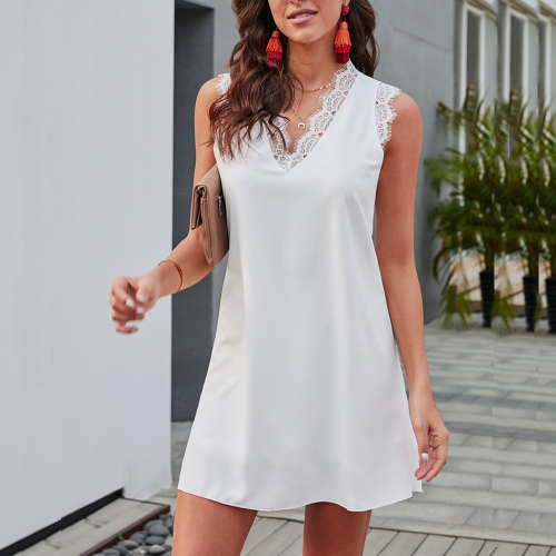Dress mini sleeveless
