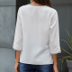 Blouse Women with three-quarter sleeves