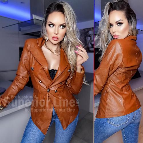 CW Jacket women Naomi imitation leather