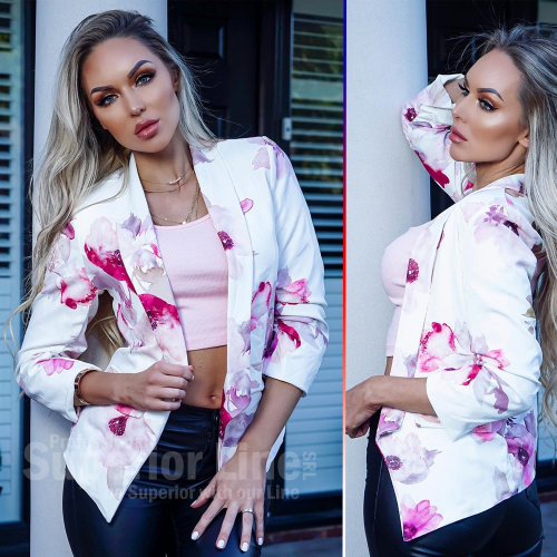 CW Jacket Bella women floral print
