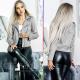 CW Jacket women Zelda Biker imitation leather
