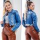 CW Jacket Adrina women of jeans flared denim