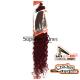 Kima Diva Crochet braids extensions (color BG)