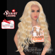 Kima FLS56 wig with lace synthetic hair (color LBLONDE)