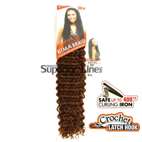 Kima Brazilian Twist mèches de cheveux crochet tresses (couleur 30)