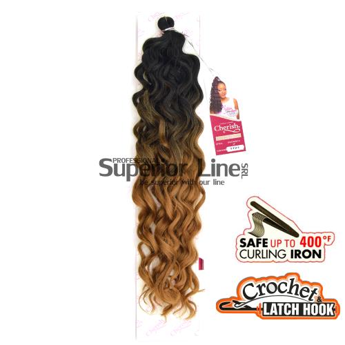 Cherish Ravish mèches de cheveux crochet tresses (couleur TT27)
