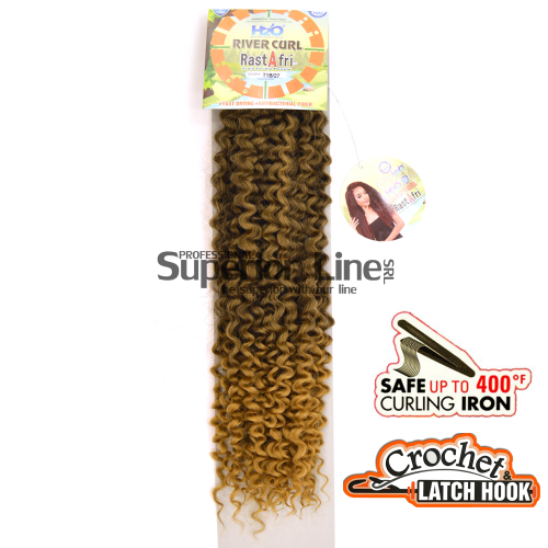 Rastafri River Crochet braids extensions (color T1B/27)