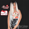 Kima LSD60 wig synthetic hair (color SGD LIGHT PLATINUM)