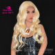 Feme Gloss Front Lace wig synthetic hair (color 613)