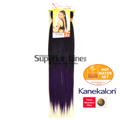 2X X-Pression Ultra Braid (culoare T1B/VIOLET)