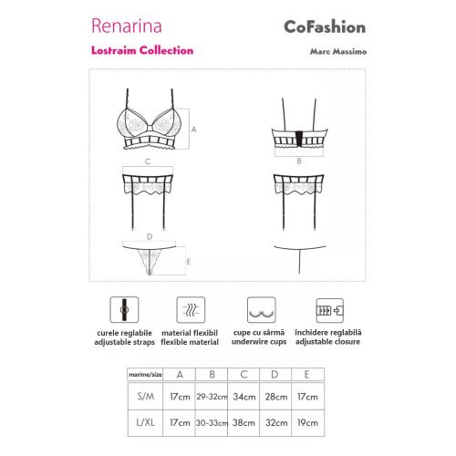 CoFashion Renarina set sexy underwear 3 pieces