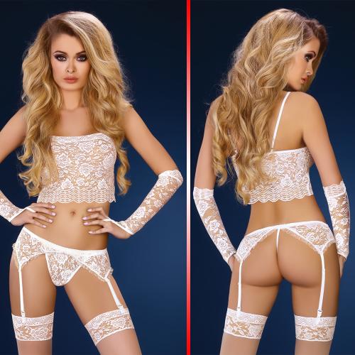LivCo Corsetti Modesta set sexy underwear 4 pieces