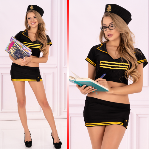 LivCo Corsetti Dodie sexy costume 4 pieces