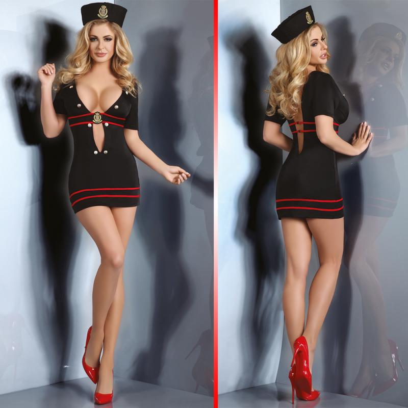 LivCo Corsetti Relene sexy costume 3 pieces