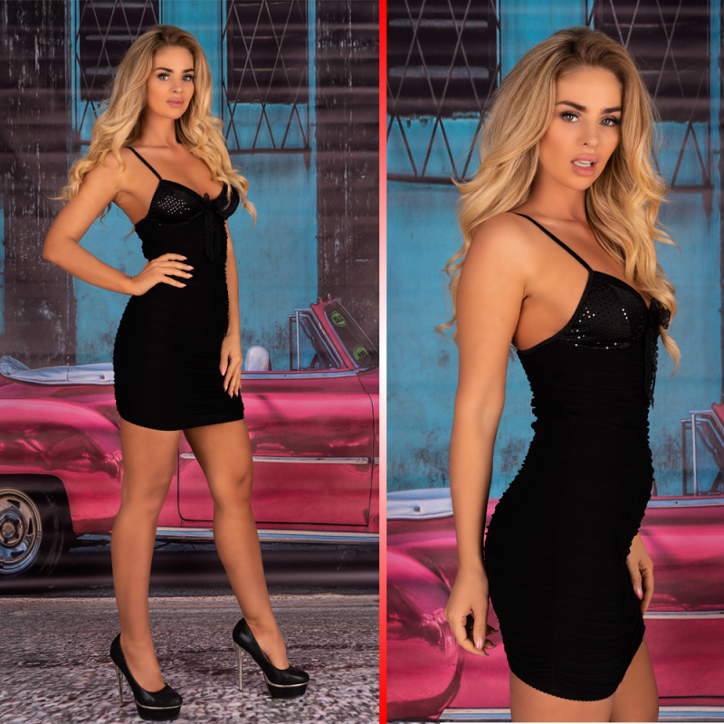 LivCo Corsetti Brigitte mini club dress