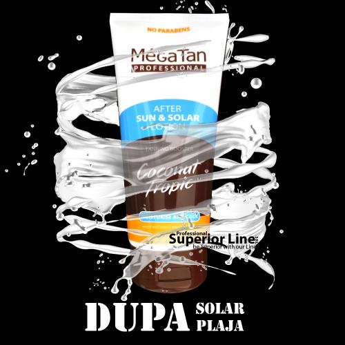 MegaTan After Sun & Solarium Coconut lotion 150 ml