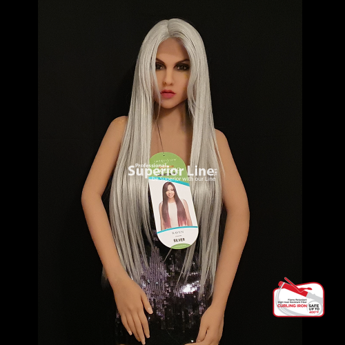 Impression Raven wig with lace (color SILVER)