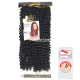 3X Cherish Bulk Water Bulk Crochet braids (color 1)