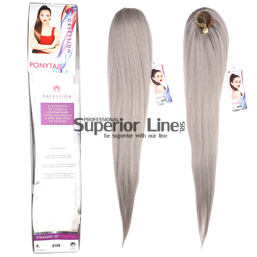 Obsession Ponytail Extensions à clips cheveux synthétiques (couleur 613/8)