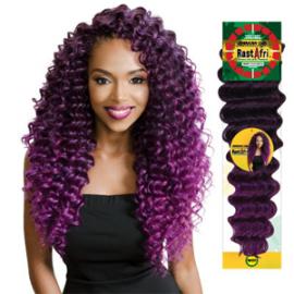 Jamaican бразилски удължения за коса афро
