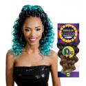 4X Model Model Straight hair crochet braids