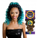 Model Model 4X Straight hair crochet braids