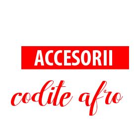 Accesorii codite afro
