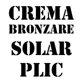 Creme Bronzare Solar
