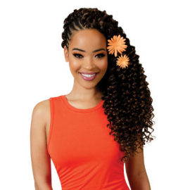 Model Model Twin Deep crochet braid