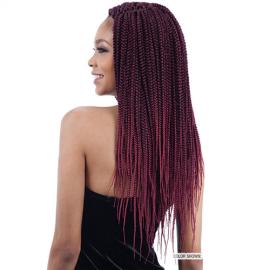 Box Braid Senegalese Extensii Afro