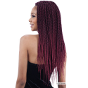 Box Braid Senegalese Extensii Afro
