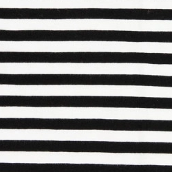 white with black stripes